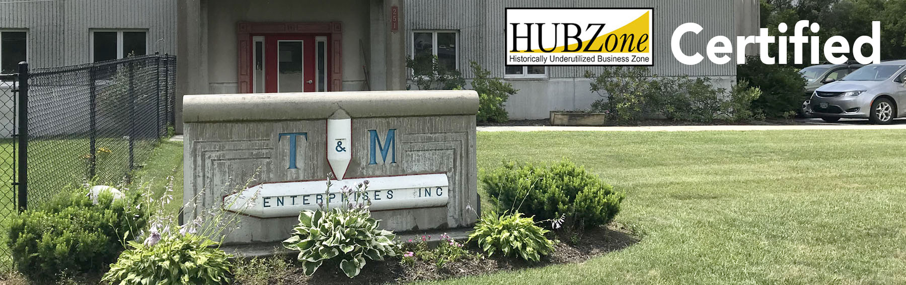 Hub Zone certified small business