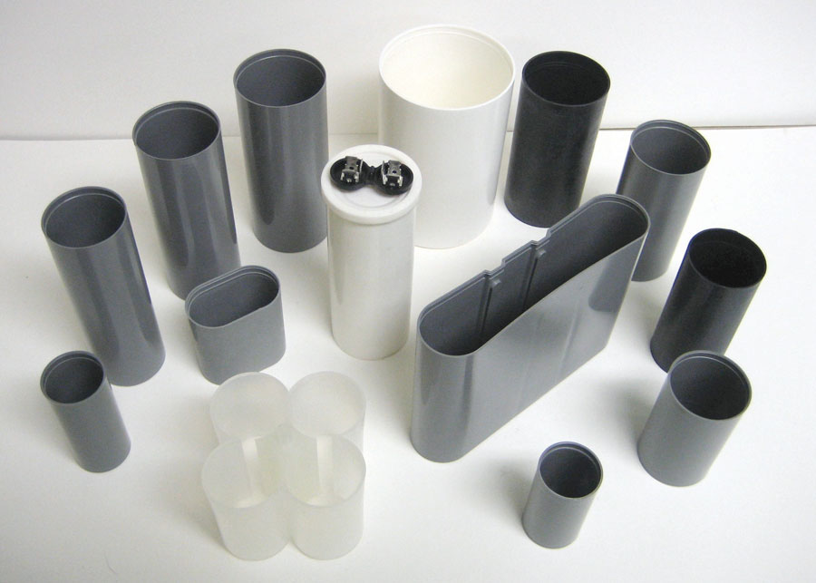 Injected Molded Plastic Cans
